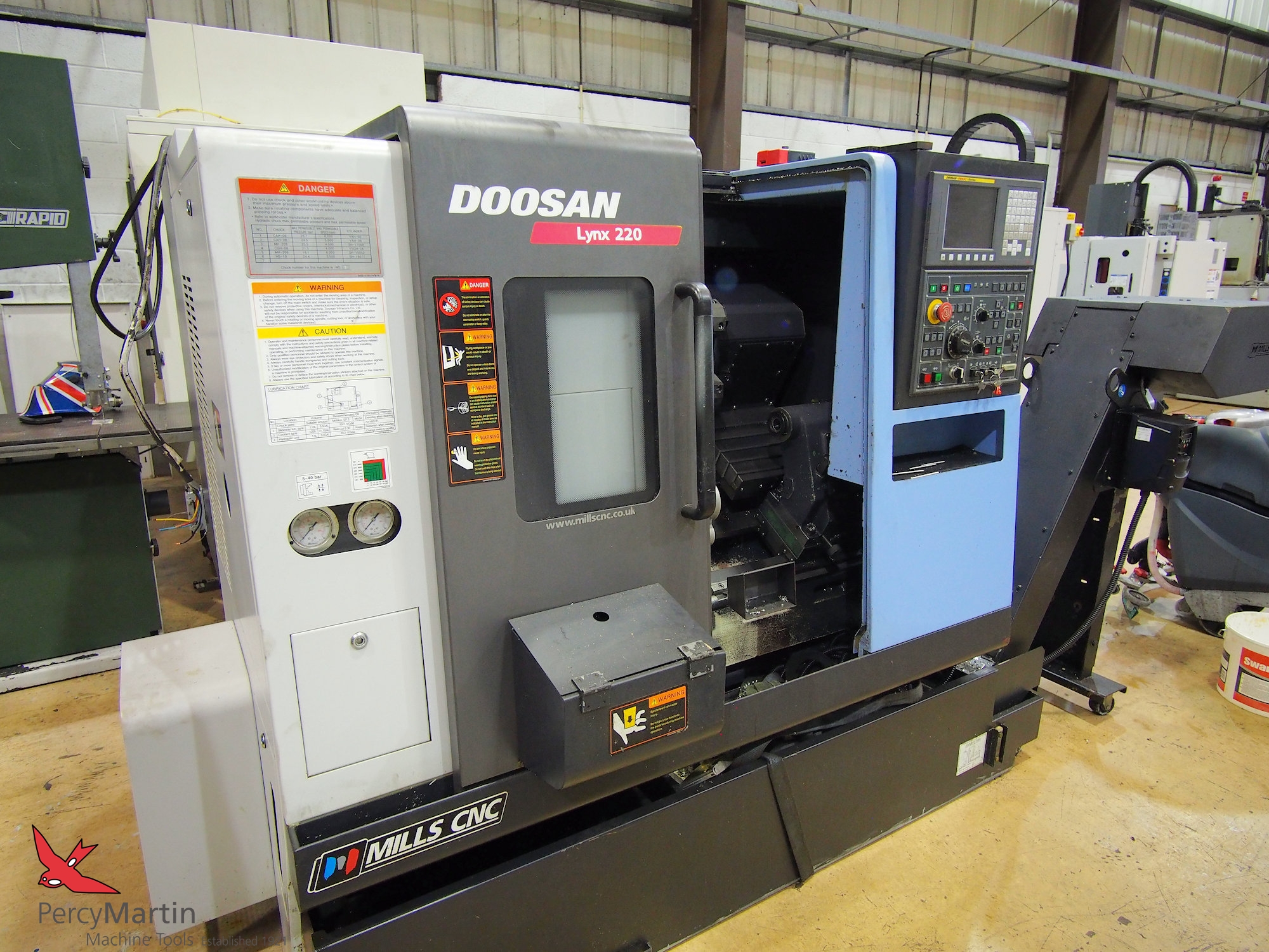 used Doosan Lynx 220B 2013 CNC Lathes for sale | Percy Martin