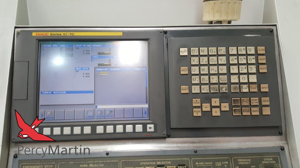 used Doosan S400 2008 CNC Lathes for sale | Percy Martin