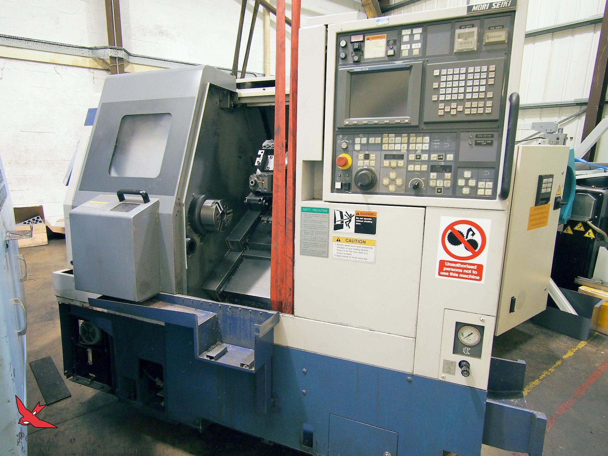 used Mori Seiki SL-150SMC 1996 CNC Lathes with Milling for